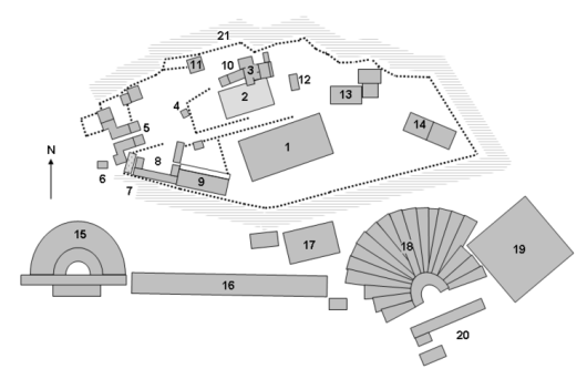 750px-AcropolisatathensSitePlan